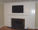 Fireplace & TV Cabinetry